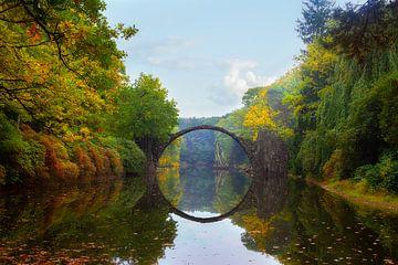 Rakotzbrücke sur Truus Nijland