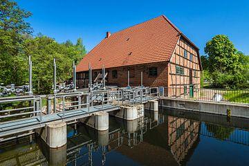 Le moulin à eau historique de Kuchelmiß sur Rico Ködder