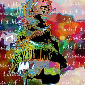 't MOOSWIEF MAASTRICHT van MY ARTIE WALL