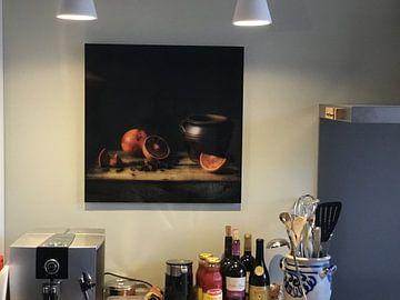 Kundenfoto: Stilleben Blutorange von Monique van Velzen