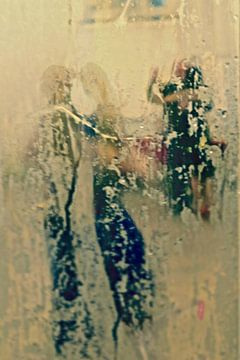 Tango dancers van Marianna Pobedimova