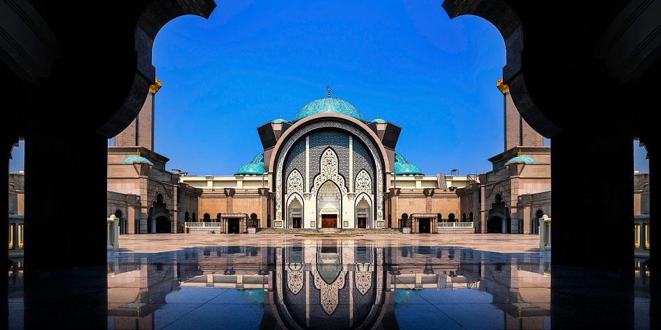 Prachtige moskee in Kuala Lumpur