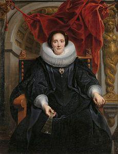 Portret van Catharina Behaghel, Jacob Jordaens (I)