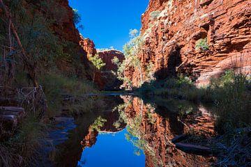 Kloof in Karijini Nationaal Park Australië van