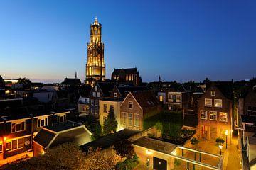 Das Zentrum von Utrecht mit Domturm und Domkirche von Donker Utrecht