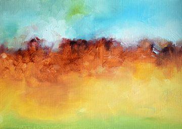 Autumn Hills von Maria Kitano