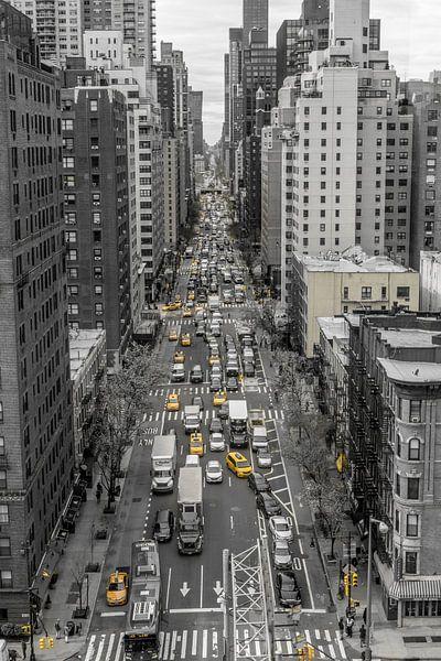 Typisches New Yorker Straßenbild von Joost Potma