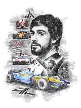 Fernando Alonso van Theodor Decker