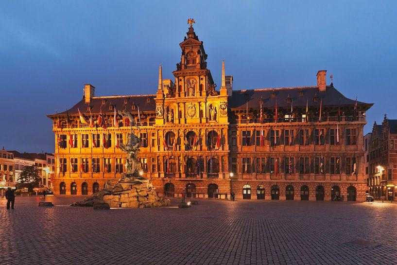 Rathaus Antwerpen von Gunter Kirsch