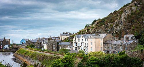 Pittoresk kustplaatsje in Wales, Groot-Brittannië