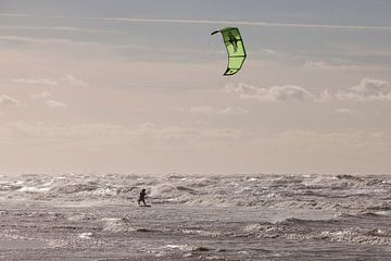 Kitesurfer von André Dorst