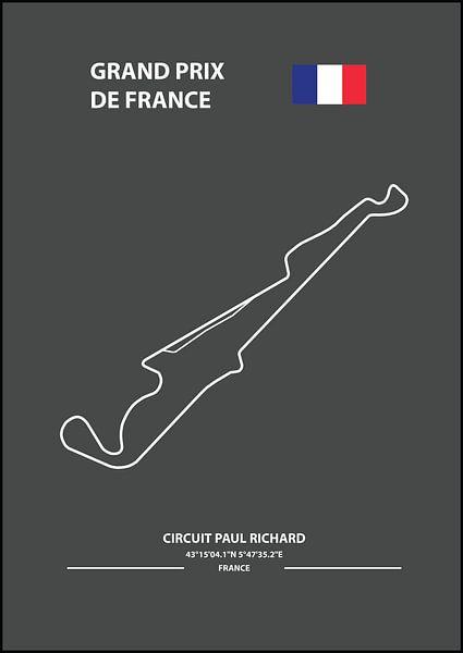 GRAND PRIX DE FRANCE    Formula 1 von Niels Jaeqx