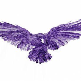 Acrylic Bird van Léonie Spierings
