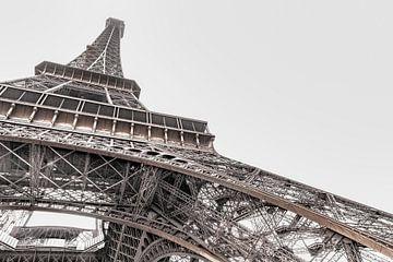 Heldere Eiffeltoren, Parijs von Robbert Ladan