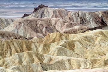 De kleuren van Death Valley van Jolanda van Eek