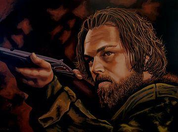 Leonardo DiCaprio Painting sur Paul Meijering