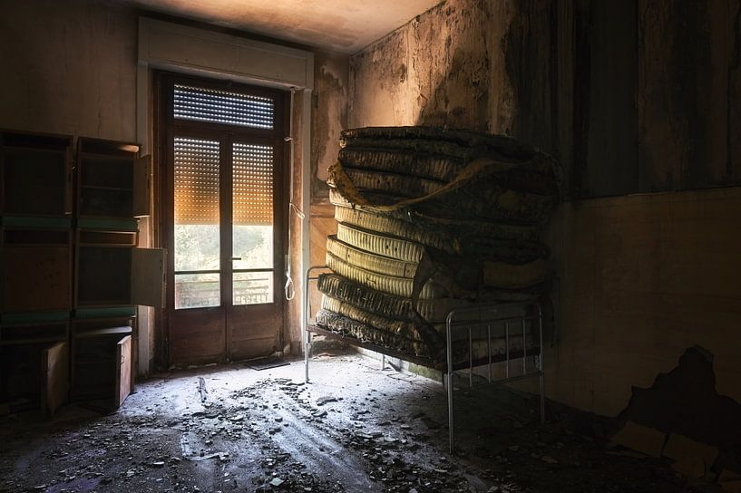 Matratzen gestapelt. von Roman Robroek