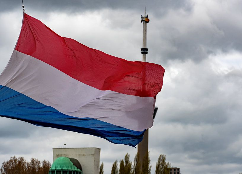 Dodenherdenking Rotterdam 2021 van Truckpowerr