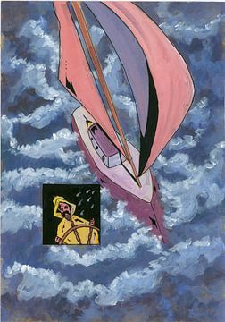 Op een stormachtige zee von Rob Eikenaar