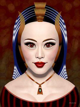 Witte Koningin van Ton van Hummel (Alias HUVANTO)