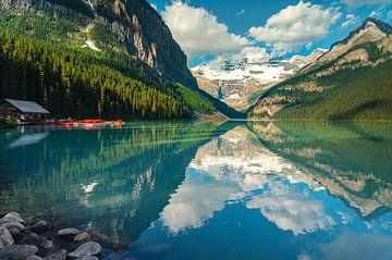 Spiegelbild von Lake Louise von Joris Pannemans - Loris Photography