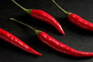 4 Rote Paprika von Mister Moret Photography