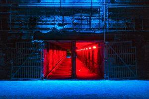 De rode tunnel, Landschaftspark Duisburg