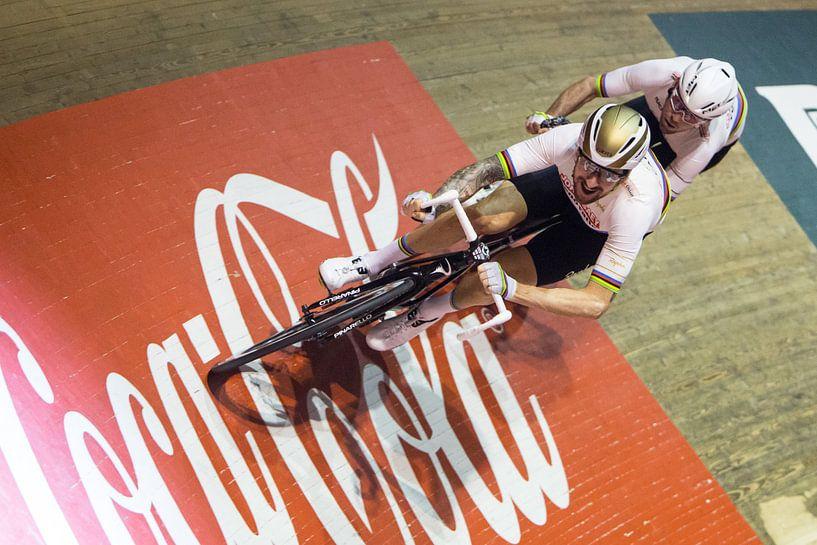Bradley Wiggins en Mark Cavendish van Leon van Bon
