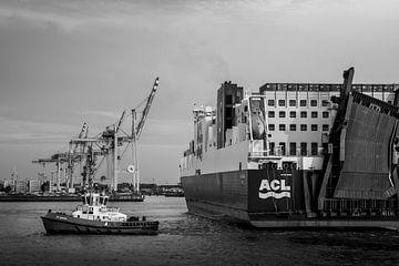 Schlepper im Hamburger Hafen sur Stefan Heesch