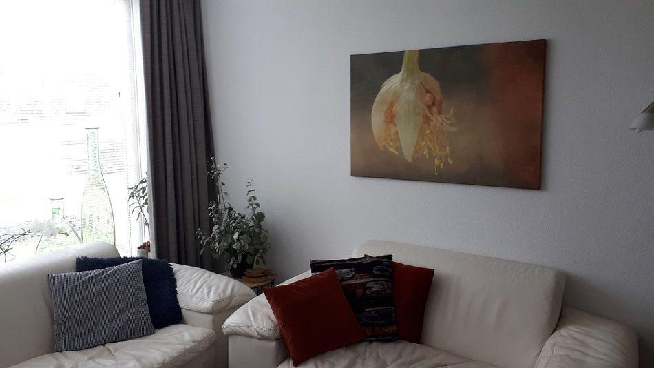 Klantfoto: Fragiel van Eddy 't Jong, op canvas