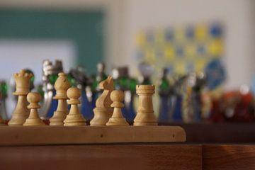 Schaakstukken / Chess pieces van Maurits Bredius