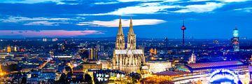 Köln Panorama von Günter Albers