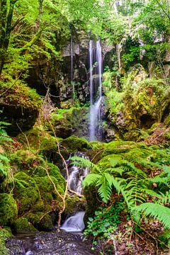 Cascade des Razes, Cantal, Auvergne, Frankrijk