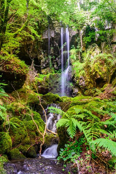 Cascade des Razes, Cantal, Auvergne, Frankrijk van 7Horses Photography