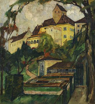 Schloss Seefeld IV, LEO PUTZ, 1923
