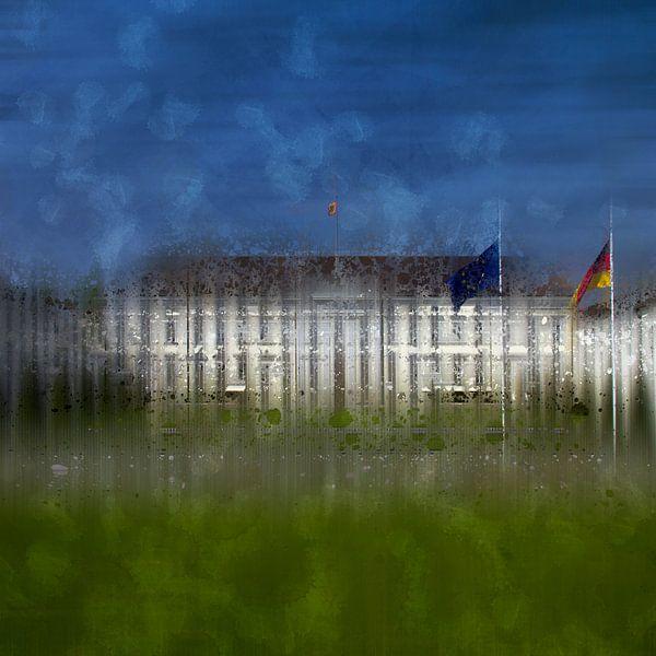 City-Art BERLIN Schloss Bellevue van Melanie Viola