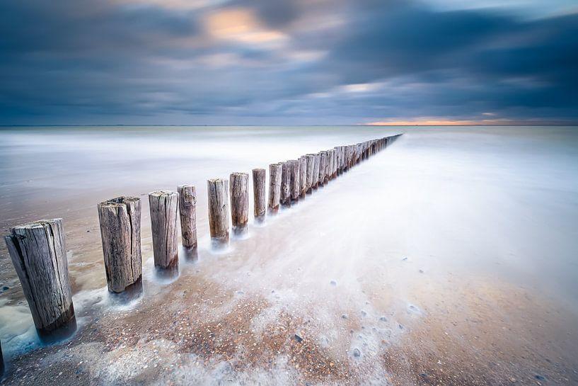 Zee van glas van Sander Poppe