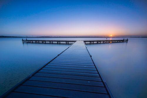Veerse meer in Vrouwenpolder von Sander Poppe