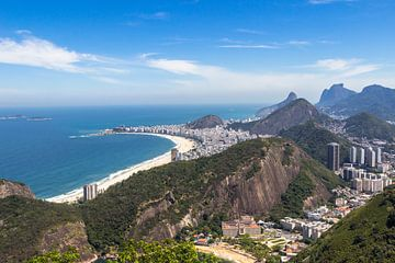 Copa Cabana, Rio de Janeiro van Peter Leenen
