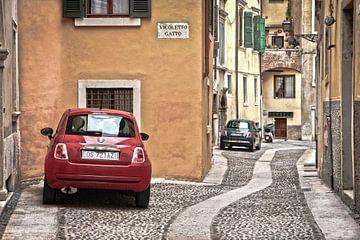 Verona- Fiat 500 van Anja Daleman