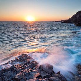 Sunset on the rocks sur Laura Vink