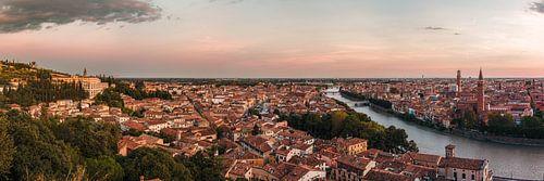 Verona - skyline at dusk