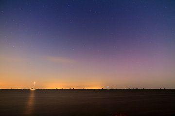 IJsselmeer nacht landschap von Dennis van de Water