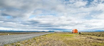 IJsland F208 - vlucht-/schuilhut