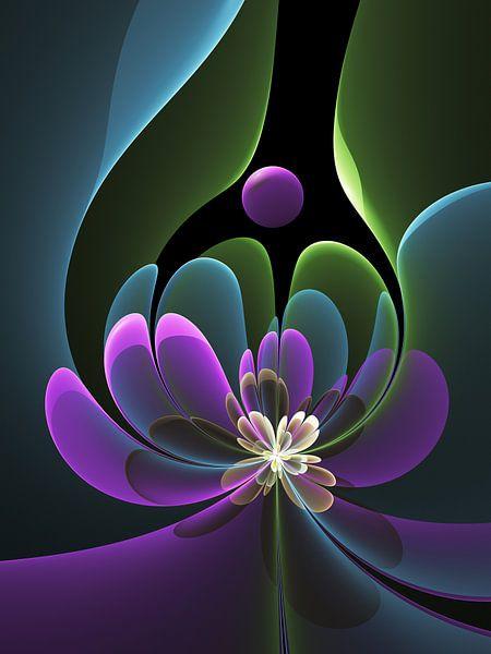 Florale Grafik von gabiw Art