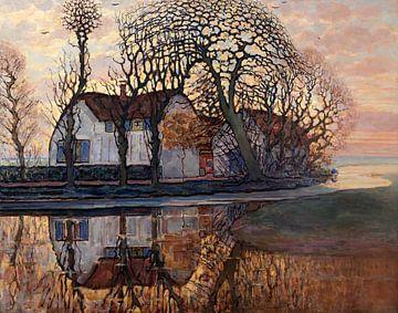 Piet Mondriaan. Landschap bij Duivendrecht