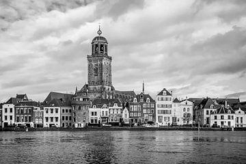 Stadsgezicht Deventer (2b) van Rob van der Pijll