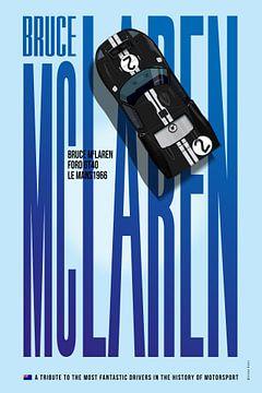 McLaren Tribute von Theodor Decker