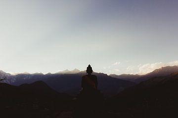 Buddha's view | Nepal van Vandaag is nu