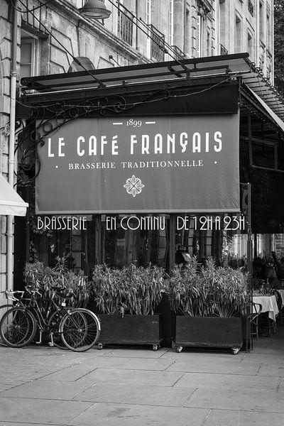 Brasserie in Bordeaux van Jaap Burggraaf